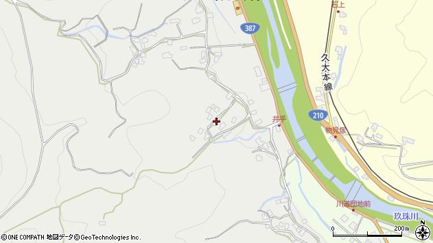 大分県玖珠郡九重町粟野728周辺の地図