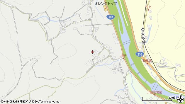 大分県玖珠郡九重町粟野732周辺の地図
