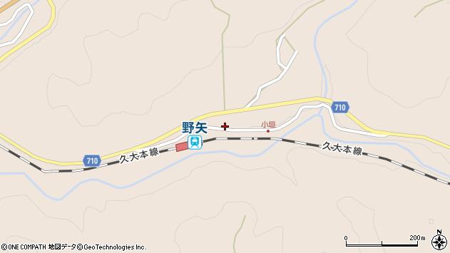 大分県玖珠郡九重町野上4003周辺の地図