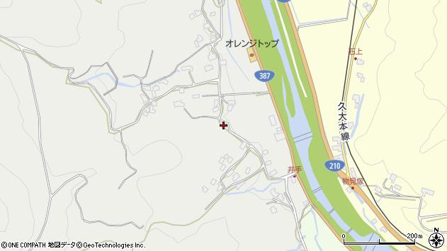 大分県玖珠郡九重町粟野750周辺の地図