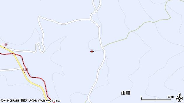 大分県玖珠郡玖珠町山浦1156周辺の地図