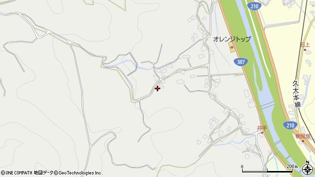 大分県玖珠郡九重町粟野795周辺の地図