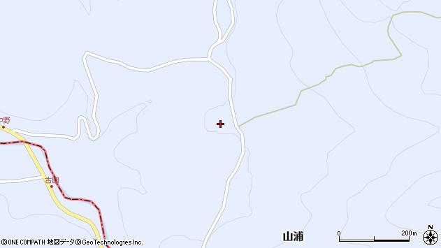大分県玖珠郡玖珠町山浦1771周辺の地図
