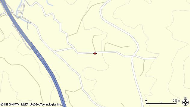大分県玖珠郡九重町右田3969周辺の地図