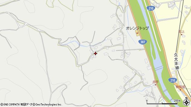 大分県玖珠郡九重町粟野791周辺の地図