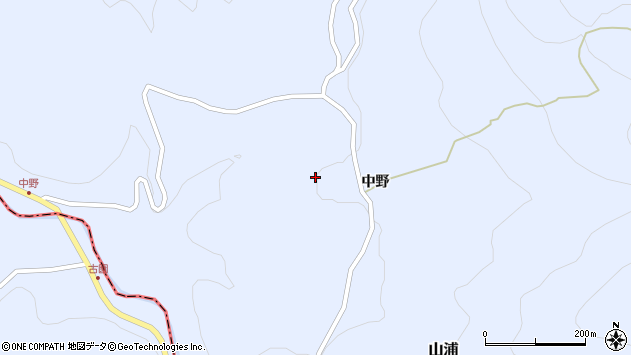 大分県玖珠郡玖珠町山浦1686周辺の地図