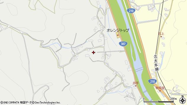 大分県玖珠郡九重町粟野762周辺の地図