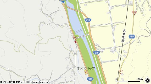 大分県玖珠郡九重町粟野960周辺の地図