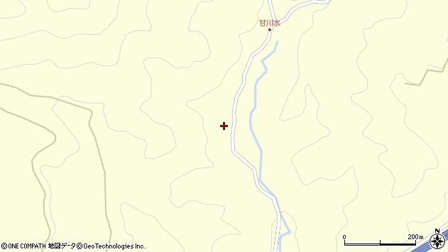 大分県玖珠郡九重町右田246周辺の地図