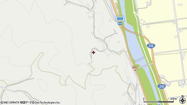 大分県玖珠郡九重町粟野945周辺の地図
