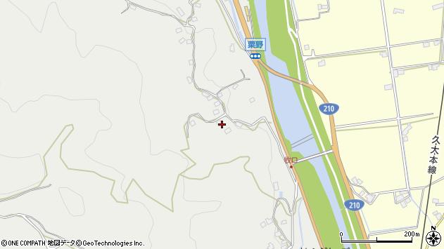 大分県玖珠郡九重町粟野973周辺の地図