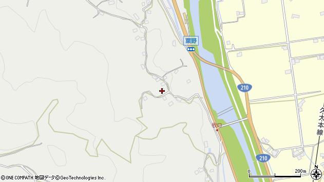 大分県玖珠郡九重町粟野978周辺の地図
