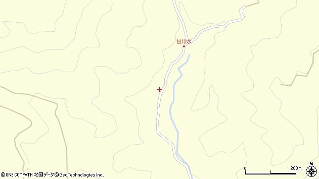 大分県玖珠郡九重町右田236周辺の地図