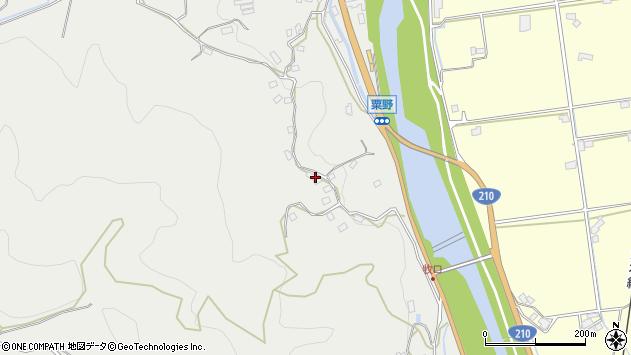 大分県玖珠郡九重町粟野984周辺の地図