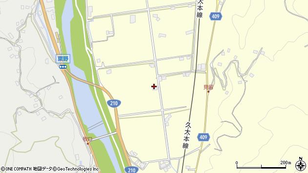 大分県玖珠郡九重町右田2800周辺の地図