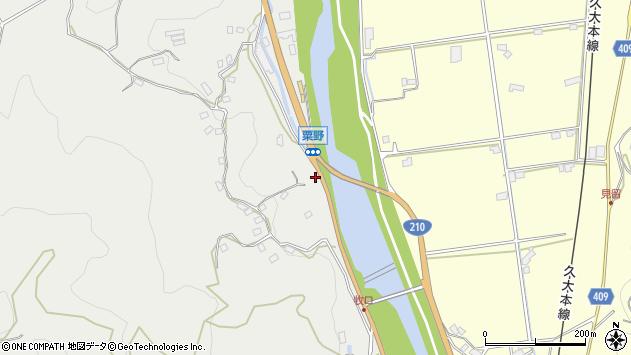 大分県玖珠郡九重町粟野998周辺の地図