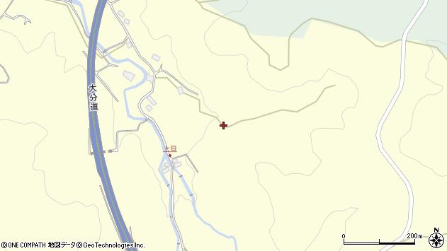 大分県玖珠郡九重町右田3627周辺の地図