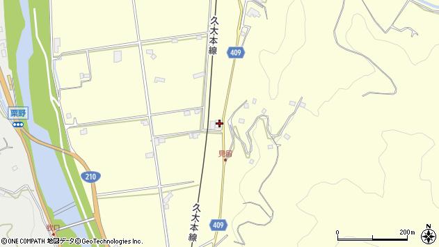 大分県玖珠郡九重町右田2761周辺の地図