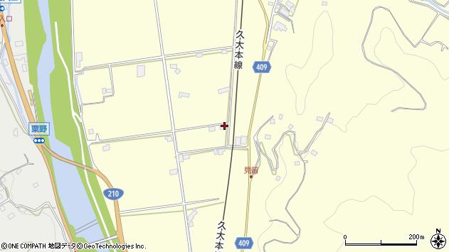 大分県玖珠郡九重町右田2856周辺の地図