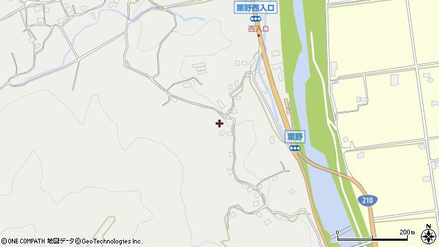 大分県玖珠郡九重町粟野1127周辺の地図