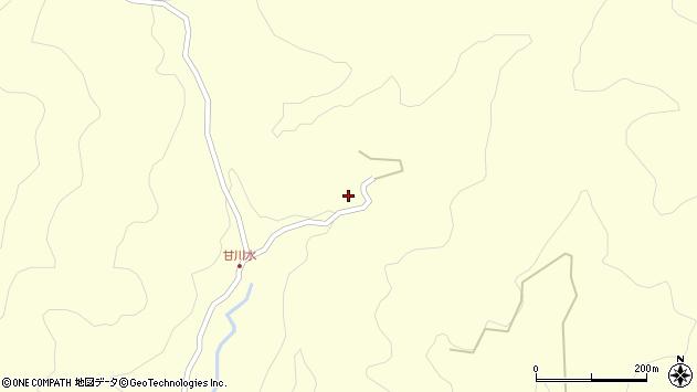 大分県玖珠郡九重町右田100周辺の地図