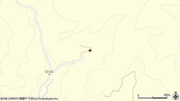 大分県玖珠郡九重町右田103周辺の地図