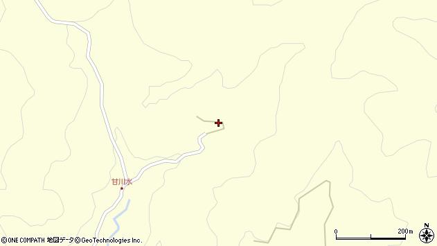 大分県玖珠郡九重町右田106周辺の地図