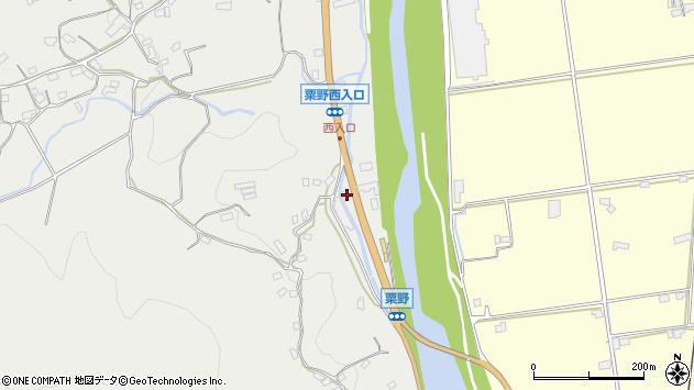 大分県玖珠郡九重町粟野1146周辺の地図
