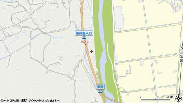 大分県玖珠郡九重町粟野1142周辺の地図