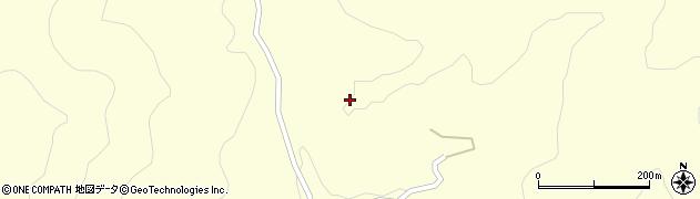 大分県玖珠郡九重町右田甘川水周辺の地図