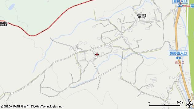 大分県玖珠郡九重町粟野1564周辺の地図