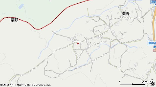大分県玖珠郡九重町粟野1611周辺の地図