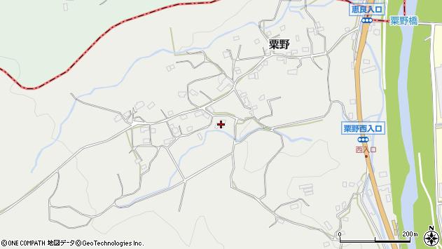 大分県玖珠郡九重町粟野1443周辺の地図