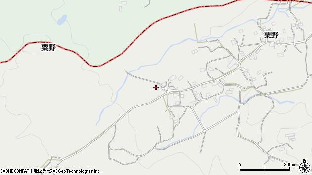 大分県玖珠郡九重町粟野1645周辺の地図