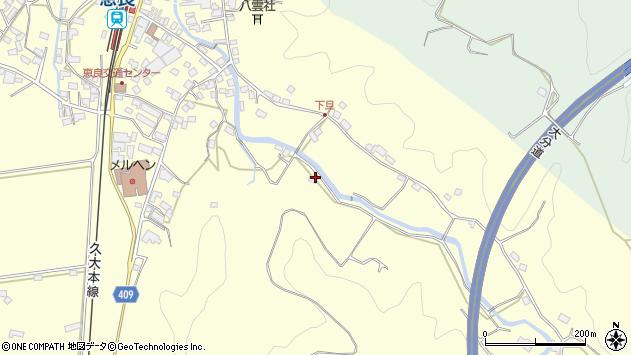大分県玖珠郡九重町右田3431周辺の地図
