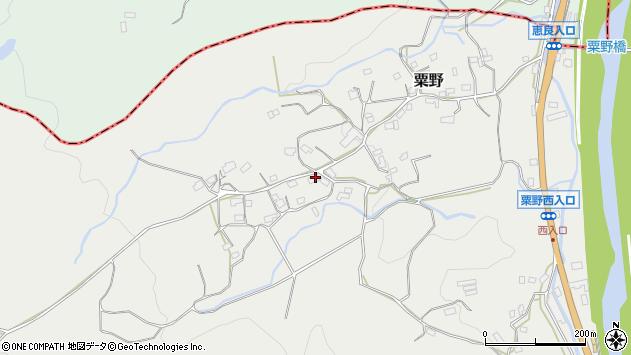 大分県玖珠郡九重町粟野1528周辺の地図