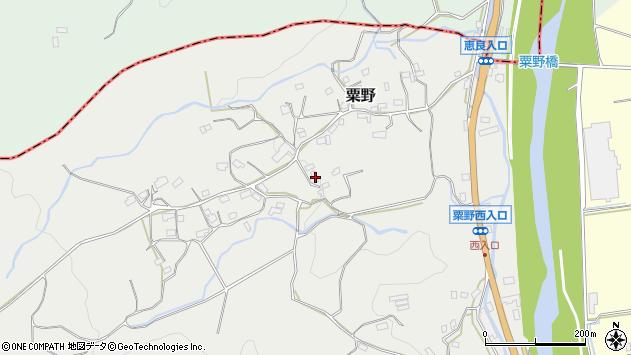 大分県玖珠郡九重町粟野1432周辺の地図
