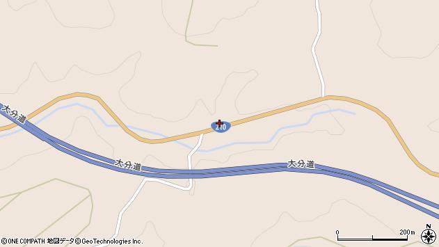 大分県玖珠郡九重町野上3871周辺の地図