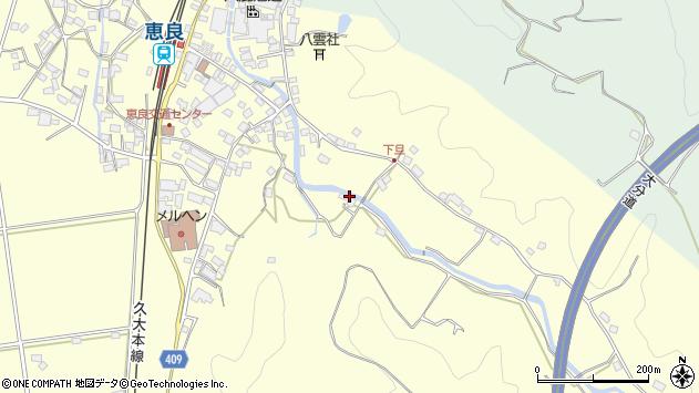 大分県玖珠郡九重町右田3430周辺の地図