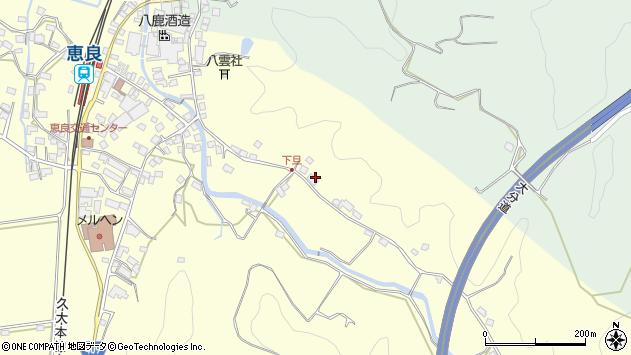 大分県玖珠郡九重町右田3470周辺の地図
