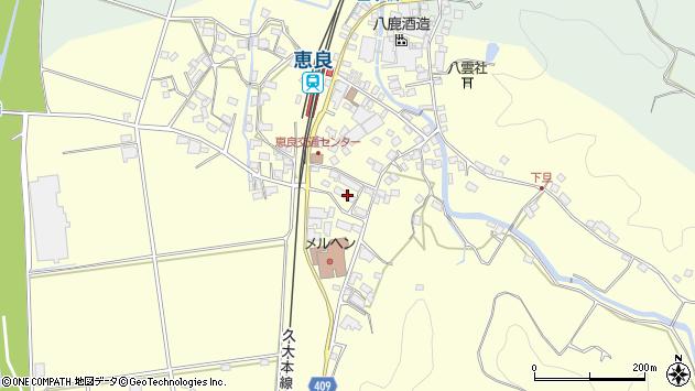 大分県玖珠郡九重町右田3150周辺の地図