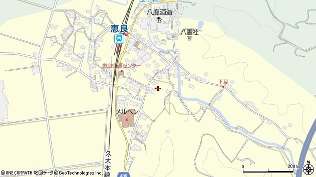 大分県玖珠郡九重町右田3166周辺の地図