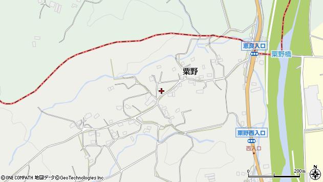 大分県玖珠郡九重町粟野1412周辺の地図