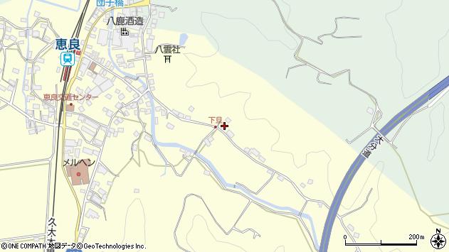 大分県玖珠郡九重町右田3471周辺の地図