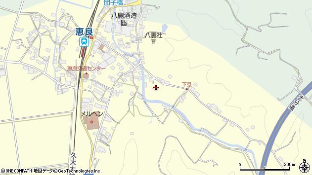 大分県玖珠郡九重町右田3345周辺の地図