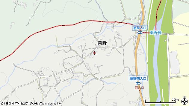 大分県玖珠郡九重町粟野1374周辺の地図
