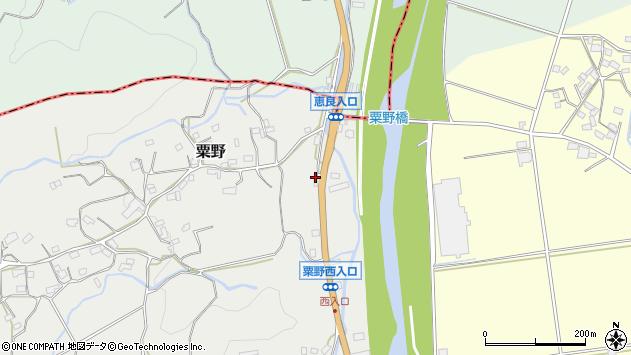 大分県玖珠郡九重町粟野1297周辺の地図