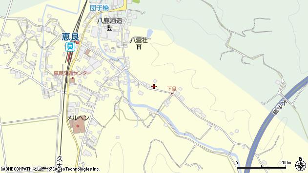 大分県玖珠郡九重町右田3404周辺の地図