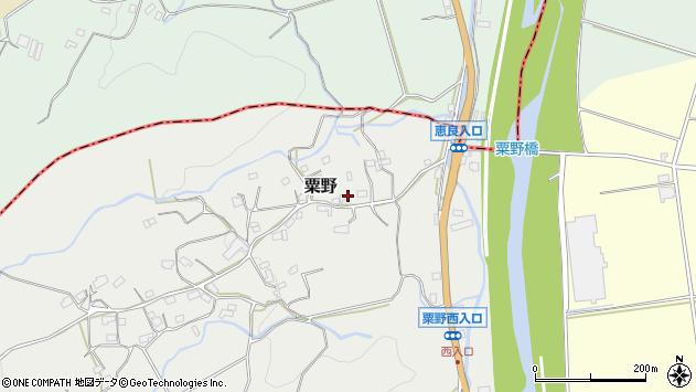大分県玖珠郡九重町粟野1339周辺の地図