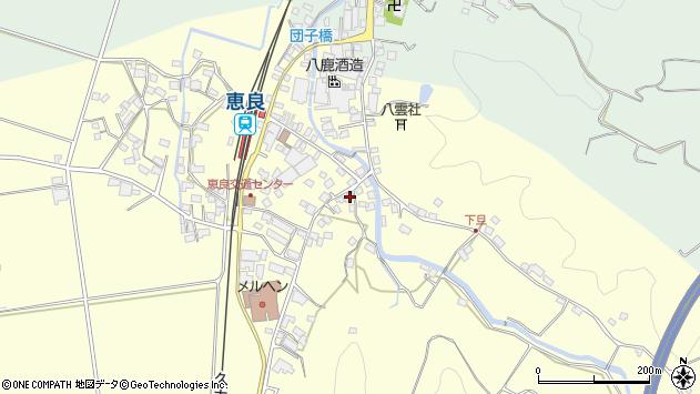 大分県玖珠郡九重町右田3358周辺の地図